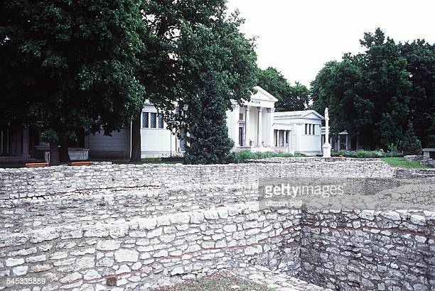Ausgrabungen in Aquincum 1996