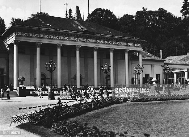 Aussenansicht vom Kurhaus- 1938