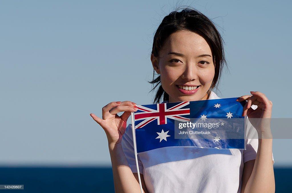 オーストラリアのアジア人女性