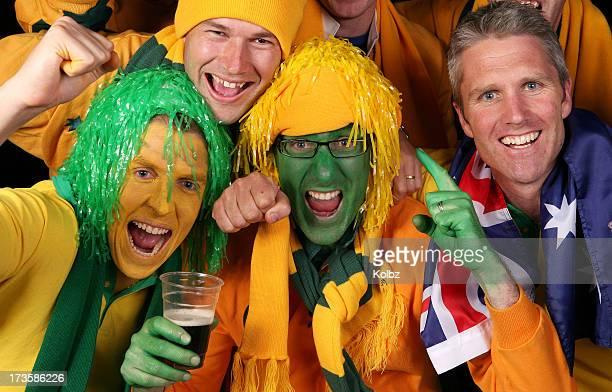 Aussie Sports Fans Celebrate