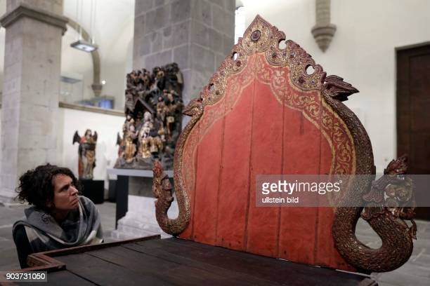 Ausstellung Madonna trifft Uma Fünf Jahre Museen im Kulturquartier am Neumarkt Seit 2010 sind das RautenstrauchJoestMuseum Kulturen der Welt und das...