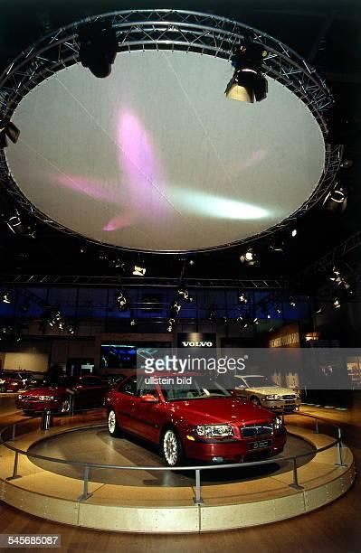 Ausstellungsstand von Volvo 1998