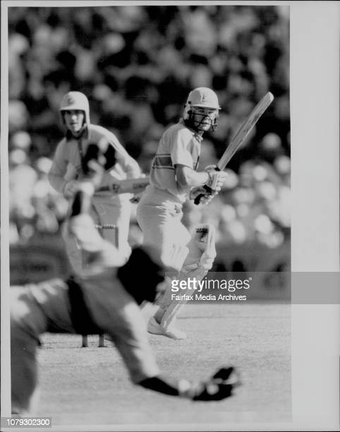 Aust Vs West Indies at the SCGWellham caught behind WK on 38 Aust 8179 January 28 1987