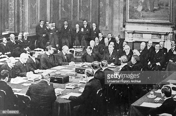 Austen Chamberlain and Stanley Baldwin sign the Locarno Treaty 1925 The Locarno Treaties were seven agreements negotiated at Locarno Switzerland on...