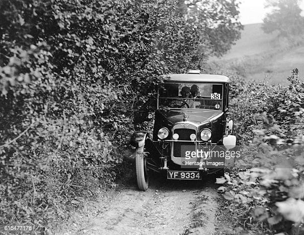 Austin 12/4 Windsor saloon taking part in the North West London Motor Club Trial 1 June 1929 Austin 12/4 Windsor Saloon Vehicle Reg No YF9334 Event...