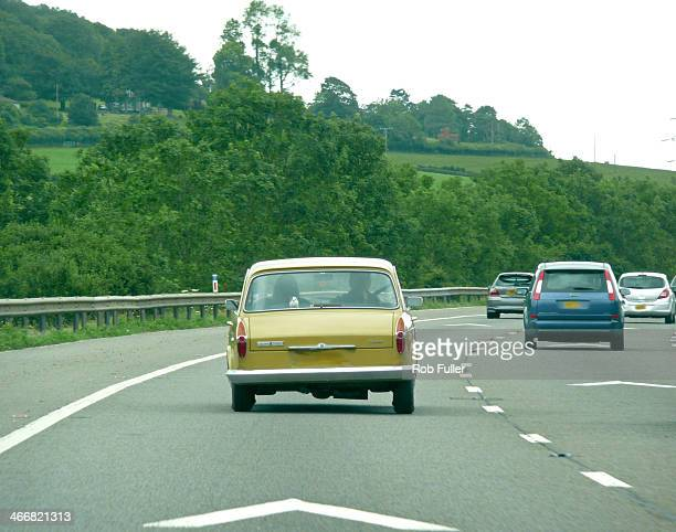 Austin 1800 travelling south on M5 Motorway in the south west of England.