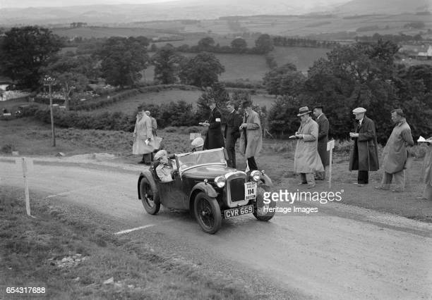 Austin 7 Nippy of DN Kennedy competing in the South Wales Auto Club Welsh Rally 1937 Artist Bill Brunell Austin 7 Nippy 1936 747 cc Vehicle Reg No...