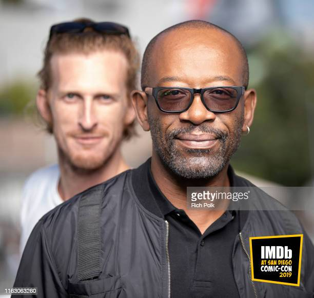 Austin Amelio and Lennie James attend the #IMDboat at San Diego Comic-Con 2019: Day Two at the IMDb Yacht on July 19, 2019 in San Diego, California.