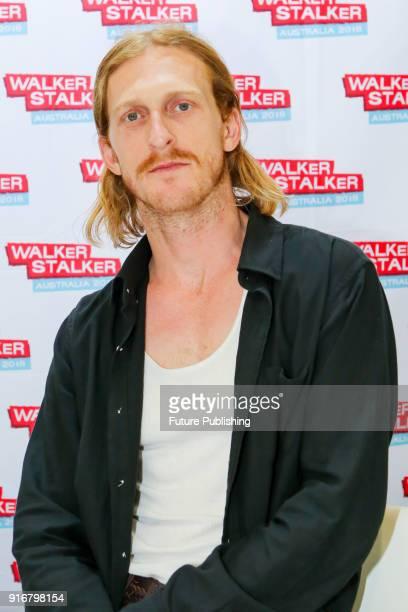 MELBOURNE AUSTRALIA FEBRUARY Austin Amelio at Walker Stalker Con Melbourne 2018PHOTOGRAPH BY Chris Putnam / Barcroft Images 44 207 033 1031...