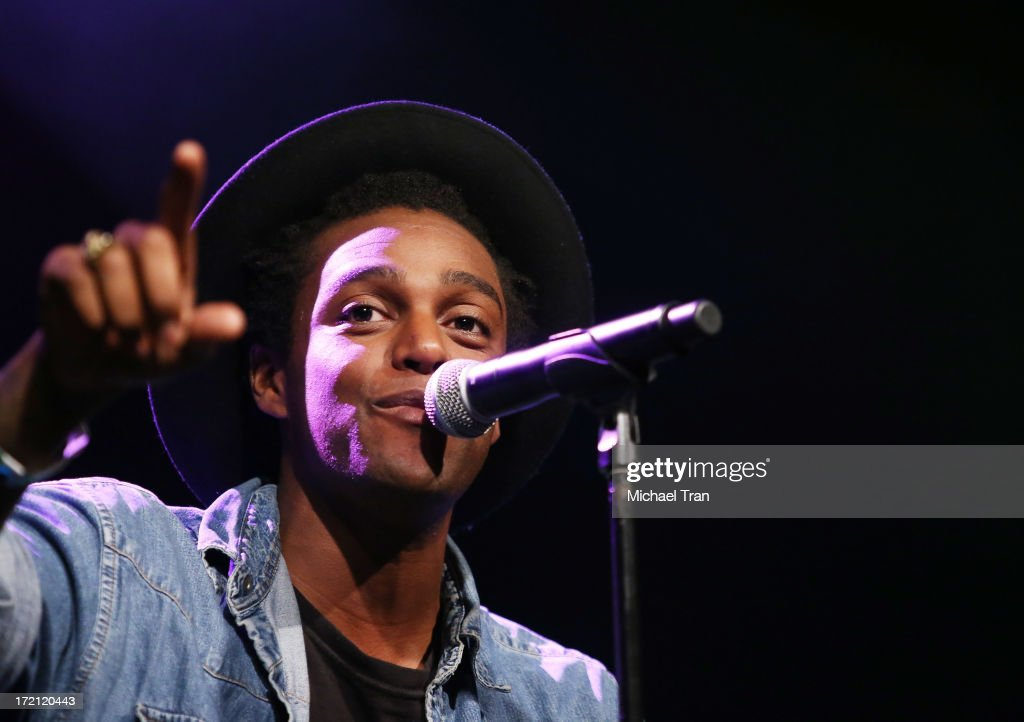 Austin Brown performs at the Friend Movement Campaign benefit concert held at El Rey Theatre on July 1, 2013 in Los Angeles, California.