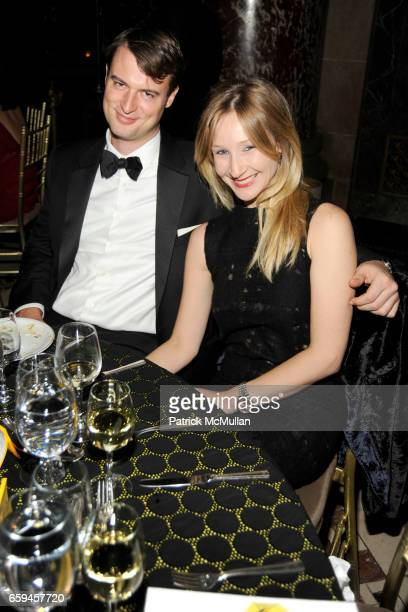 Austin Bryan and Kiki Przybylo attend NEW YORKERS FOR CHILDREN 10th Annual Fall Gala at Cipriani 42nd on September 22 2009 in New York City