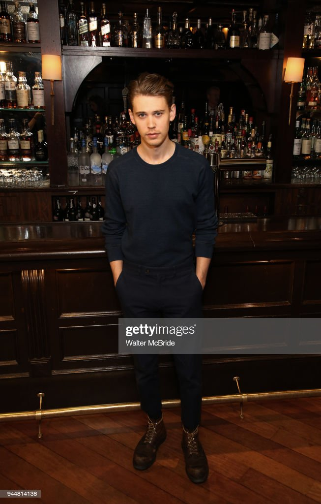 Austin Butler attends the Broadway cast of 'The Iceman Cometh' Press Photocall at Delmonico's on April 11, 2018 in New York City.