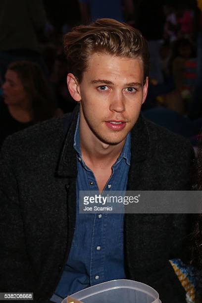 Austin Butler attends the Cinespia Presents Summer Screening Of 'Mean Girls' at Hollywood Forever on June 4 2016 in Hollywood California