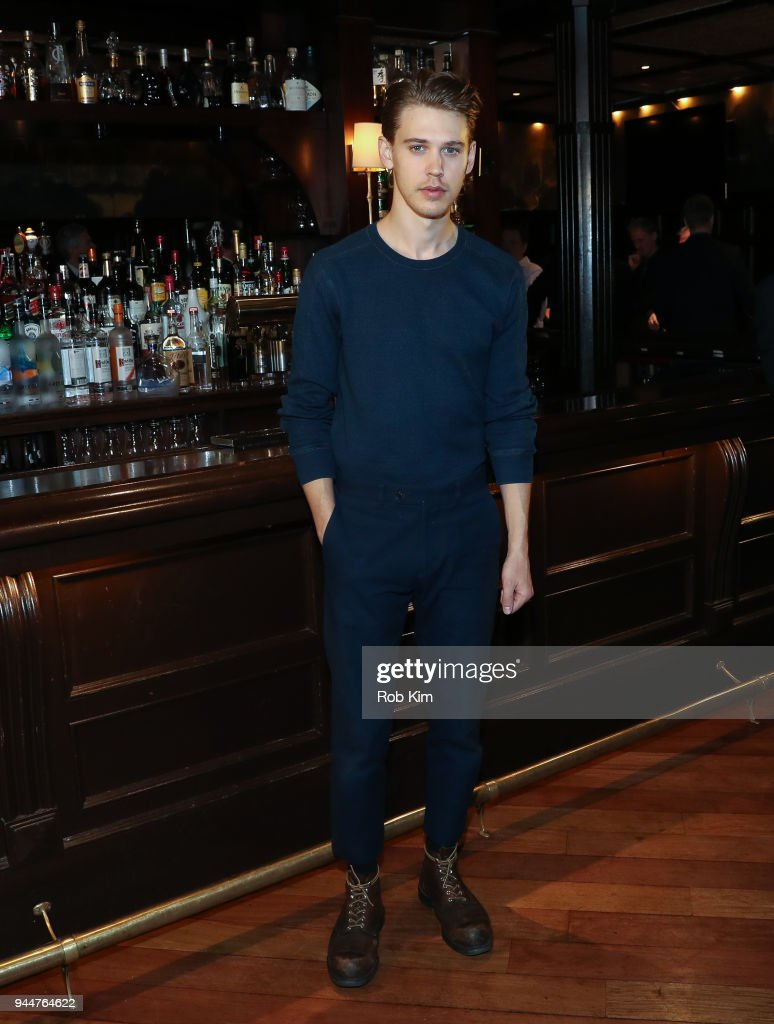 Austin Butler attends 'The Iceman Cometh' Broadway Meet The Press at Delmonico's on April 11, 2018 in New York City.