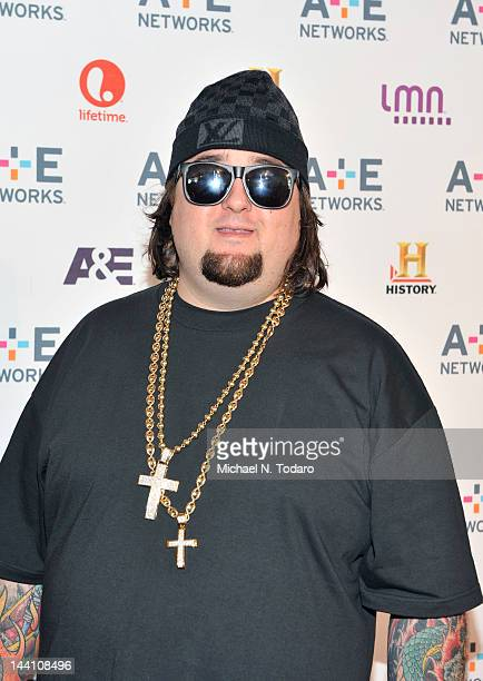 """Austin """"Chumlee"""" Russell attends the A+E Networks 2012 Upfront at Lincoln Center on May 9, 2012 in New York City."""
