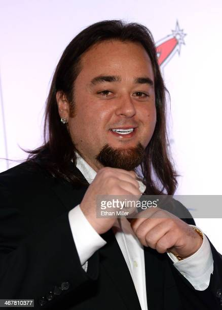 """Austin """"Chumlee"""" Russell from History's """"Pawn Stars"""" television series arrives at the sixth annual Fighters Only World Mixed Martial Arts Awards at..."""