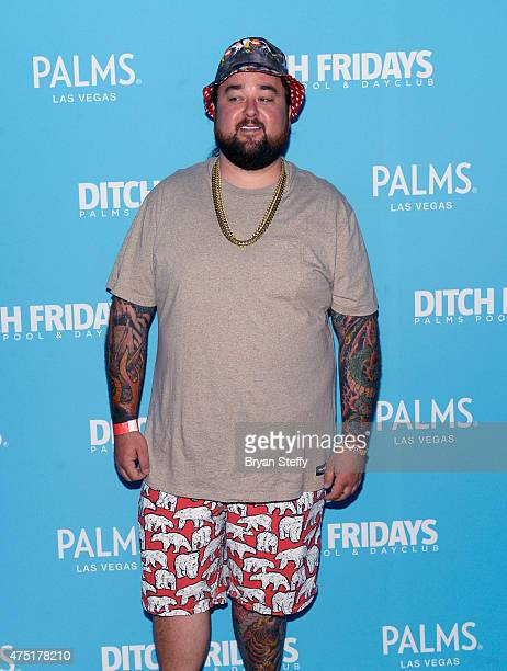 """Austin """"Chumlee"""" Russell from History's """"Pawn Stars"""" television series arrives at Farrah Abraham's birthday celebration during Ditch Fridays at the..."""