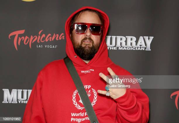 """Austin """"Chumlee"""" Russell from History's """"Pawn Stars"""" television series attends the opening of """"Murray the Magician"""" at the Laugh Factory inside the..."""