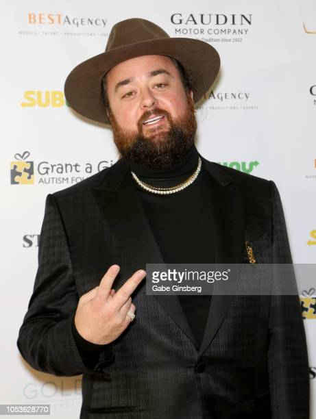 """Austin """"Chumlee"""" Russell from History's """"Pawn Stars"""" television series attends the Grant a Gift Autism Foundation's ninth annual Fashion for Autism..."""