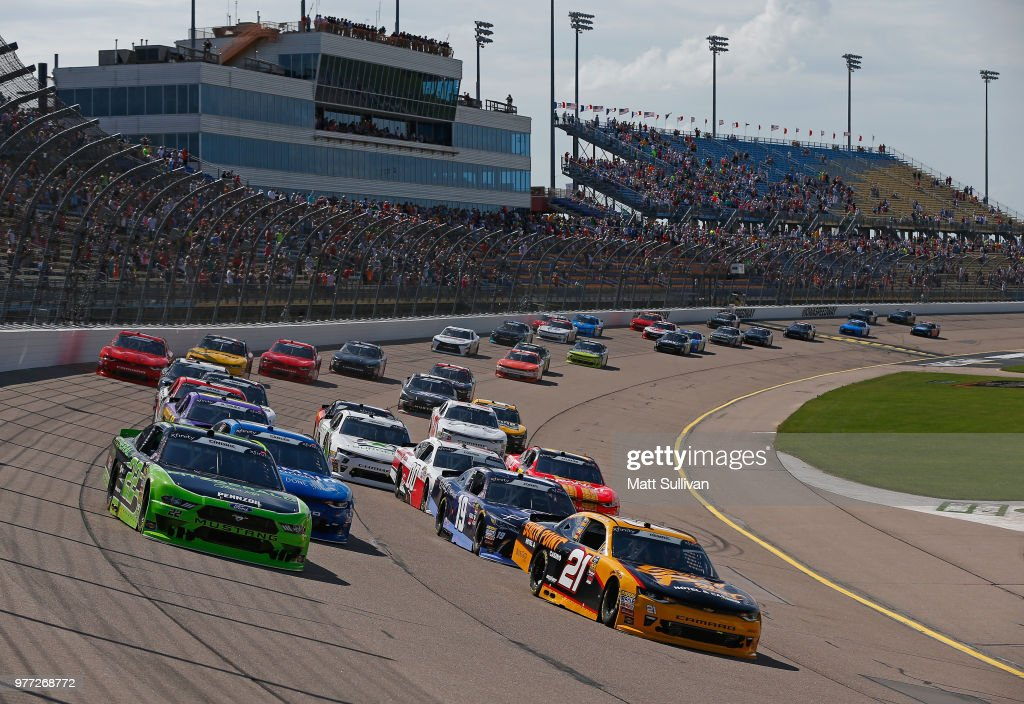 NASCAR Xfinity Series Iowa 250 presented by Enogen : Foto jornalística