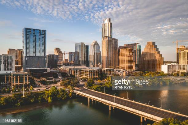 austin city limits skyline - austin texas stock pictures, royalty-free photos & images