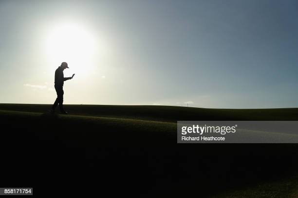 Austin Connelly of The United States the 1st during day two of the 2017 Alfred Dunhill Championship at Carnoustie on October 6 2017 in St Andrews...