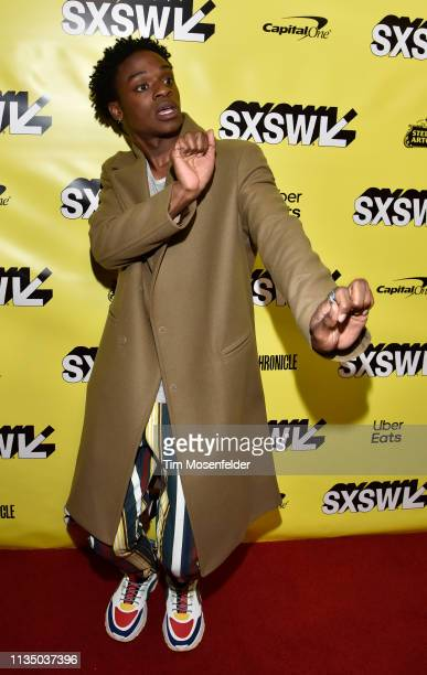 Austin Crute attends the premiere of Booksmart during the 2019 SXSW Conference And Festival at the Paramount Theatre on March 10 2019 in Austin Texas