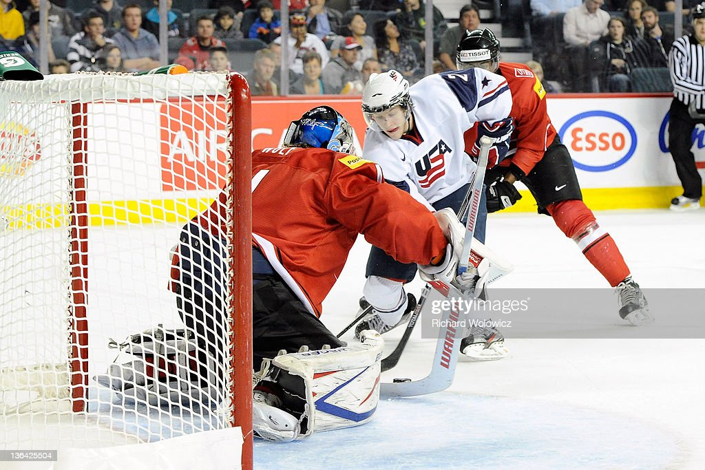 2012 World Junior Hockey Championships - Relegation - Switzerland v United States