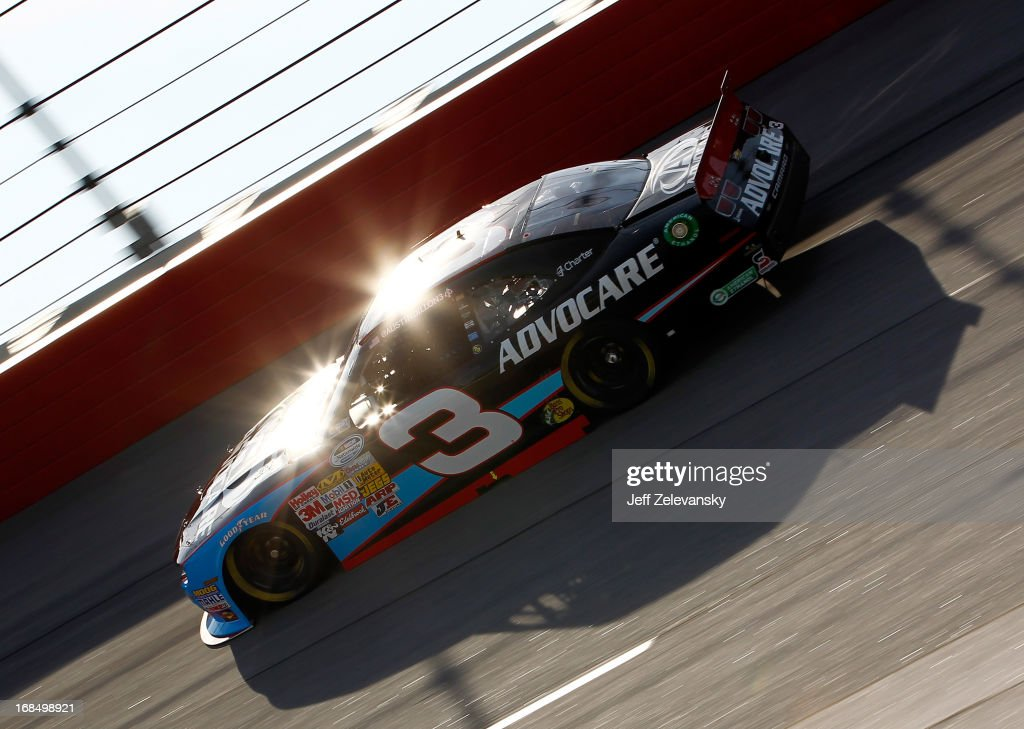Austin Dillon drives the #3 AdvoCare Chevrolet, during practice for the NASCAR Nationwide Series VFW Sport Clips Hero 200 at Darlington Raceway on May 10, 2013 in Darlington, South Carolina.