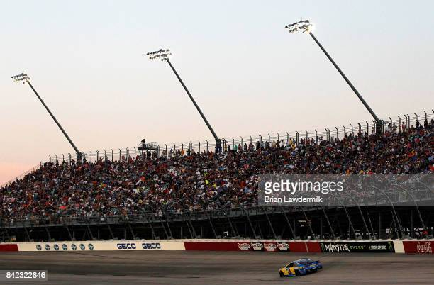 Austin Dillon drives the American Ethanol Chevrolet during the Monster Energy NASCAR Cup Series Bojangles' Southern 500 at Darlington Raceway on...