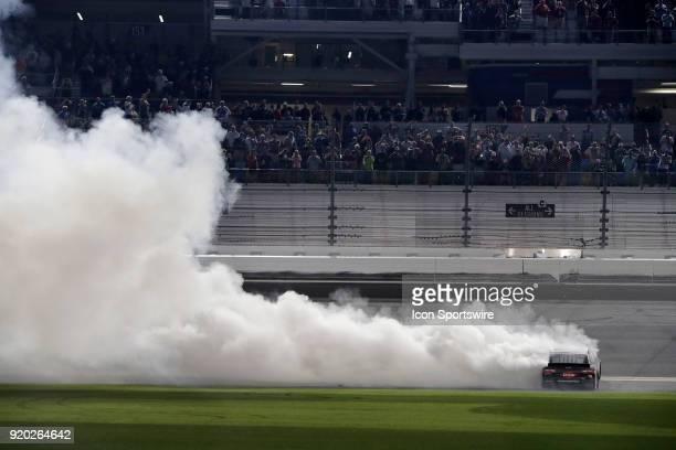 Austin Dillon Richard Childress Racing Dow Chevrolet Camaro during the running of the 60th Daytona 500 on Sunday February 182018 at Daytona...