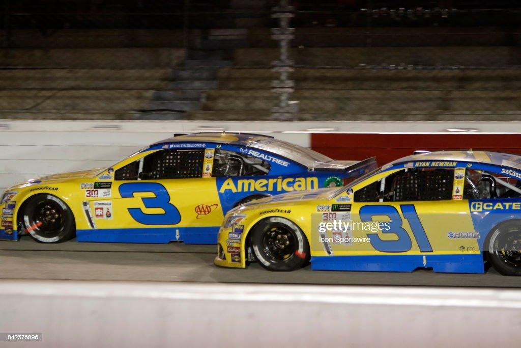 AUTO: SEP 03 NASCAR Monster Energy Cup Series - Bojangles' Southern 500 : ニュース写真