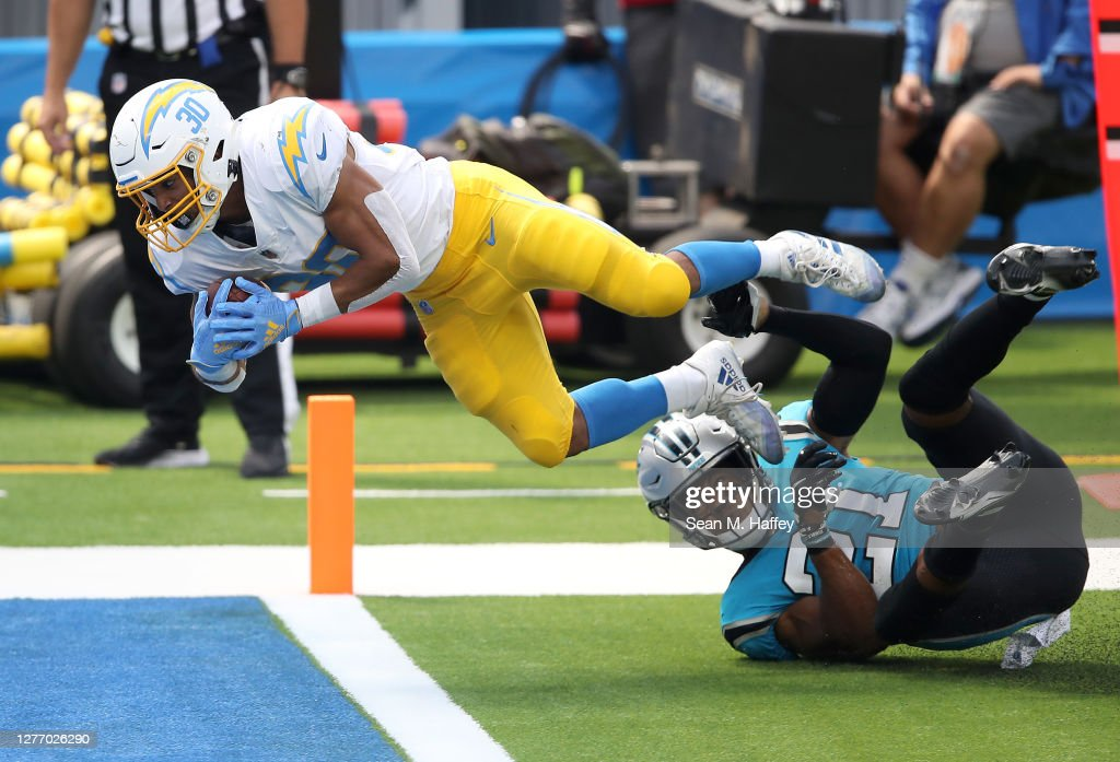 Carolina Panthers v Los Angeles Chargers : News Photo