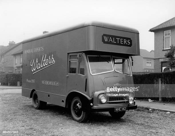 Austin FE 1957 removal van belonging to Walters Removals Mexborough South Yorkshire 1957 Frank Walters was the uncle of the photographer Michael and...