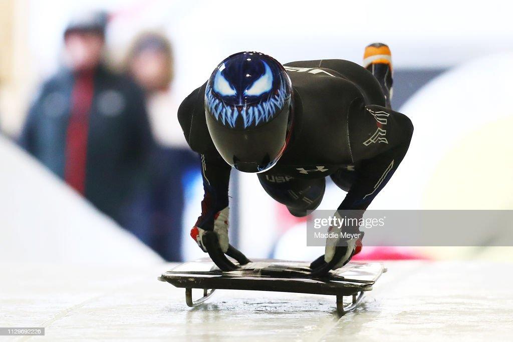 2019 IBSF World Cup Bobsled & Skeleton - Training : ニュース写真