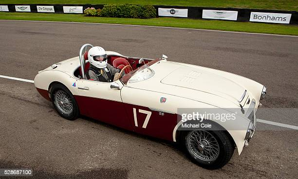 Austin Healey 100/6 Fordwater Trophy race at The Goodwood Revival Meeting 13th Sept 2013