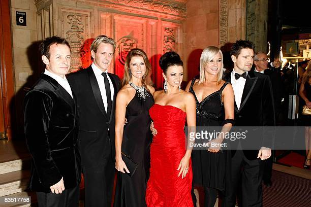 Austin Healey Matthew Cutler Erin Boag Karen Hardy Hayley Holt and Tom Chambers attend the National Television Awards 2008 at the Royal Albert Hall...