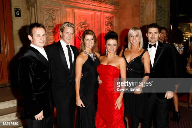 Austin Healey Matthew Cutler Erin Boag Karen Hardy Hayley Holt Tom Chambers attend the National Television Awards 2008 at the Royal Albert Hall on...