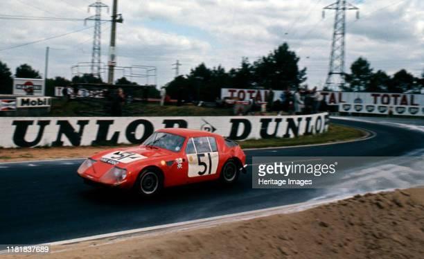 Austin Healey Sprite Baker Hedges 1967 Le Mans 24 hour race Creator Unknown