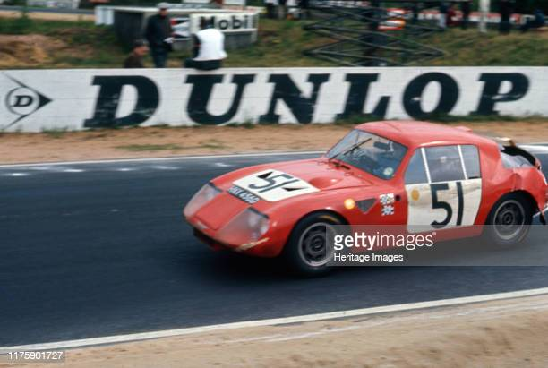 Austin Healey Sprite Baker Hedges 1967 Le Mans 24 hour race