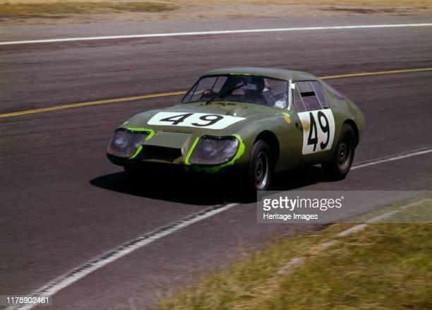 Austin Healey Sprite Hawkins Rhodes 1965 Le Mans 24 hour race