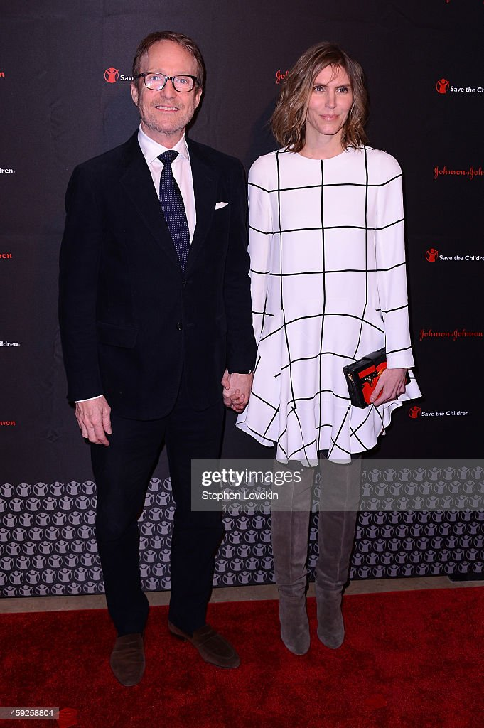 Austin Hearst and Gabriela Perezutti Hearst attend the 2nd Annual Save The Children Illumination Gala at the Plaza on November 19, 2014 in New York City.