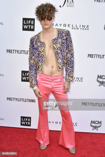 Austin Kolbe attends The Daily Front Row's 4th Annual Fashion Los Angeles Awards Arrivals at The Beverly Hills Hotel on April 8 2018 in Beverly Hills...