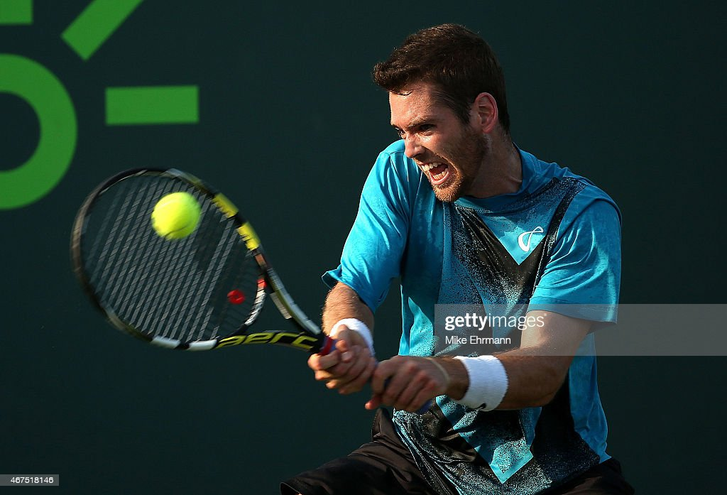 Miami Open Tennis - Day 3 : News Photo