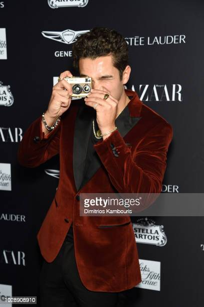 Austin Mahone attends as Harper's BAZAAR Celebrates ICONS By Carine Roitfeld at the Plaza Hotel on September 7 2018 in New York City