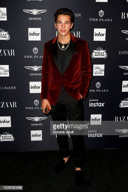 Austin Mahone attends Harper's BAZAAR Celebrates 'ICONS By Carine Roitfeld' at The Plaza Hotel on September 7 2018 in New York City