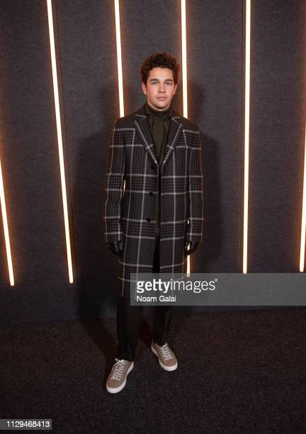 Austin Mahone attends the BOSS Womenswear Menswear fashion show during New York Fashion Week on February 13 2019 in New York City