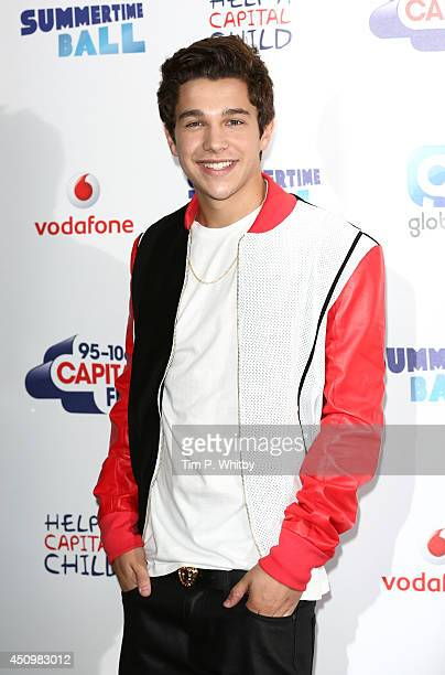 Austin Mahone attends the Capital Summertime Ball at Wembley Stadium on June 21 2014 in London England