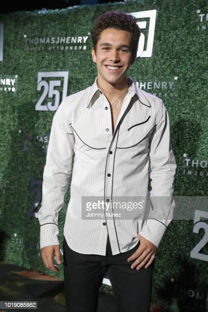 Austin Mahone attends the Thomas J Henry Celebrates The 25th Anniversary Of Thomas J Henry Attorneys at Henry B Gonzalez Convention Center on August...