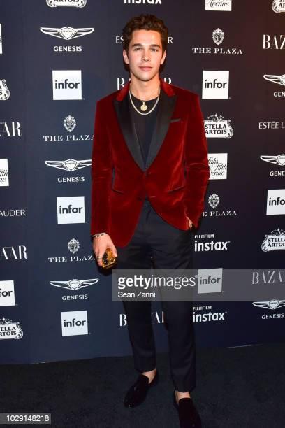Austin Mahone attends The Worldwide Editors Of Harper's Bazaar Celebrate ICONS by Carine Roitfeld presented by Infor Stella Artois FUJIFILM Estee...